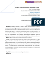 Analisis y Reflexion Del PEI