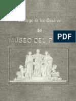 12_Madrazo Pedro - Catalogo de Los Cuadros Del Museo Del Prado - Edicion 1910