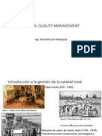 Clase 1. Total Quality Management
