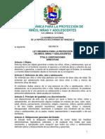 Ley Orgánica para la Protección de Niños, Niñas y Adolescentes.pdf