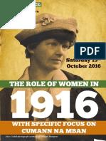 Role of Women 1916 A5 8pp WEB ENG 2016