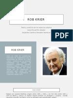 ROB KRIER arquitectura