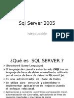 SQL Server Introduccion