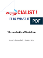 The Audacity of Socialism