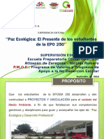 Paz Ecológica en la Escuela