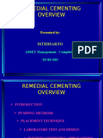 Remedial Cementing Overview
