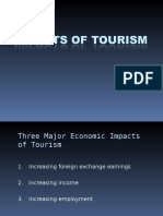 5. Impacts of Tourism