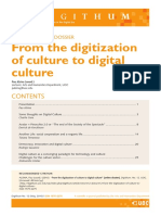 Alsina, Pau. 'From the Digitization of Culture to Digital Culture',