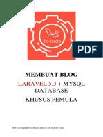 Laravel 5 Tutorial