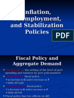 Inflation, Unemployment, And Stabilization Policies