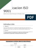 Presentación Certificacion ISO 9001