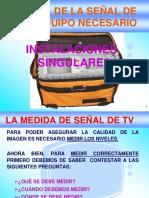 Presentacion La Medida de La Señal de TV
