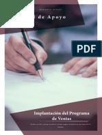 Implantación del Programa de Ventas (1)