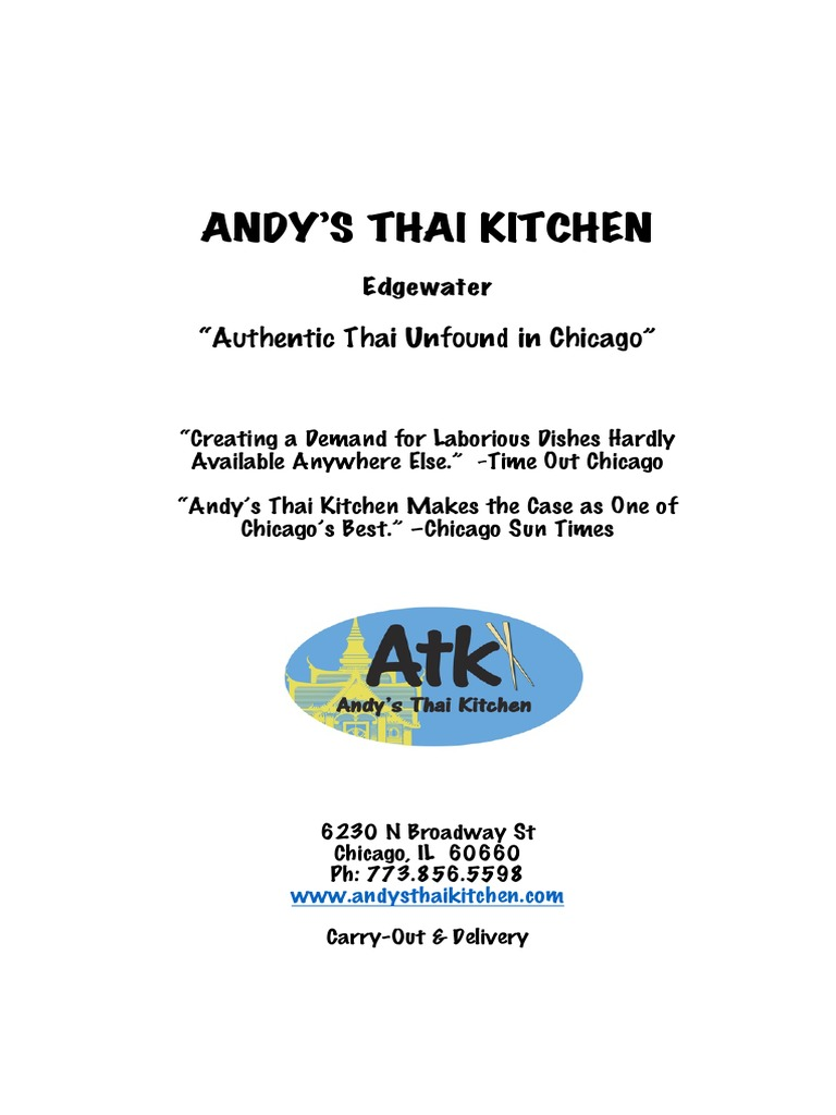 Atk Edgewater Menu   Thai Cuisine   Curry