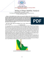 Ammar Mohammed 2013, Numerical Modeling of Slope Stability Analysis
