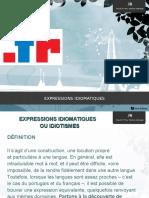 Expression Idiomatiques