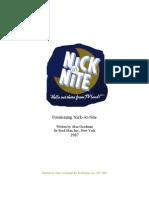 Positioning Nick-at-Nite