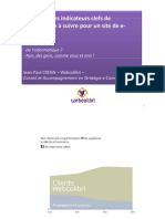 Indicateurs Clefs de Performance E-Commerce KPI