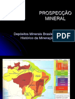 Histórico da Legislação Mineral no Brasil