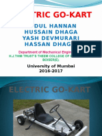 ELECTRIC GO-KART PPT