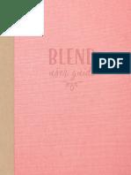 Blend Font UserGuide