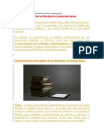 la literatura contenporanea.docx