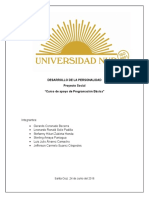 Informe Proyecto Social(Caratula)