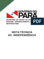 Nota Tecnica Av. Independencia