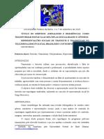 REPRESENTAÇÕES SOCIAIS DE TRAVESTIS E TRANSEXUAIS NO TELEJORNALISMO POLICIAL BRASILEIRO CONTEMPORÂNEO