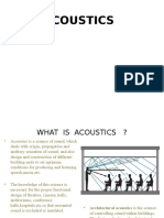 Acoustics 1
