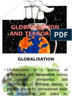 Globalisation and Terrorism
