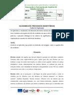 CP 4 Fich. Trab. n.º 5 - Glossário de Processos Identitários