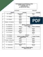 Objetivos del curso de Química General II QU-0102