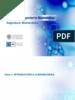 Clase 1 - Introducción a La Biomecánica