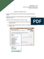 Manual Recovery 4.3 Pendrive HDExterno Revisao