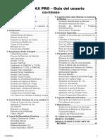 Manual de Usuario Powermax Pro