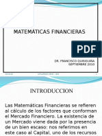 Matematica Financiera Programa