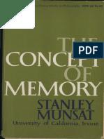 Munsat-Concept of Memory