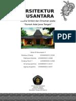 Arsitektur Nusantara - Rumah Adat Jawa Tengah