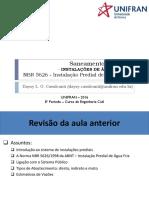 Aula 3 - Água Fria - NBR 5626