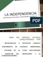 La Independencia 7 Alex