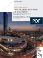 MGI_2015 Saudi Arabia Beyond Oil - The Investment and Productivity Transformation