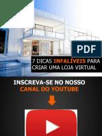 Apostila Aluno-7 Dicas INFALIVEIS Para Criar Um Loja Virtual (1)