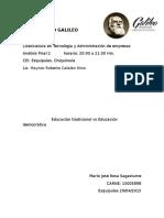 Análisis Final 2 Educación Tradicional vs Educacion Democrática 15005898 Mario José Rosa Sagastume.docx