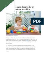 7 Ejercicios Para Desarrollar El Razonamiento de Los Niños