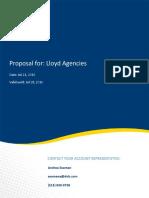 20160721 HooversProposal Lloyd Agencies