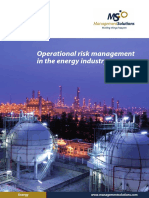 Operational Risk Energy