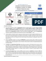 Bolétin Estadistico n23 CEPAL