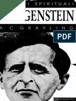 A. C. Grayling - Wittgenstein (Maestrii Spiritului)