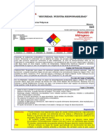 Msds - Peroxido de Hidrogeno